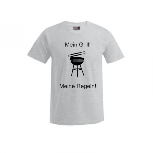 """T-Shirt """"Regeln Grillen"""" 1"""
