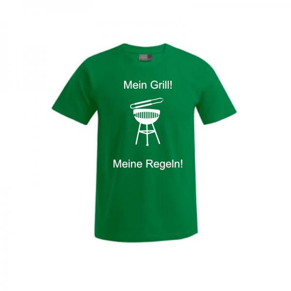 """T-Shirt """"Regeln Grillen"""" 2"""