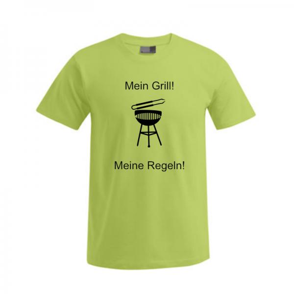 """T-Shirt """"Regeln Grillen"""" 3"""