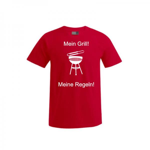 """T-Shirt """"Regeln Grillen"""" 6"""