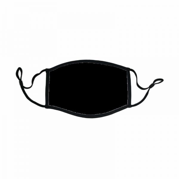 Community Maske mit Logo weiß