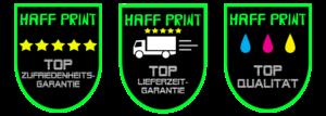 Haff Print Garantien
