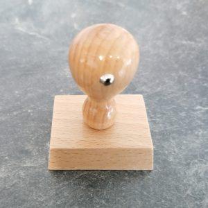 Holzstempel 40x50mm 6 Zeilen 1