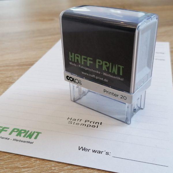 Firmenstempel Haff Print